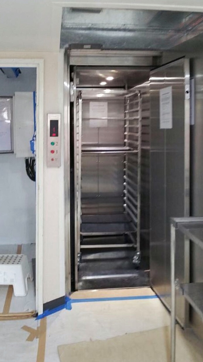 Dumbwaiter at Sembcorp Marine