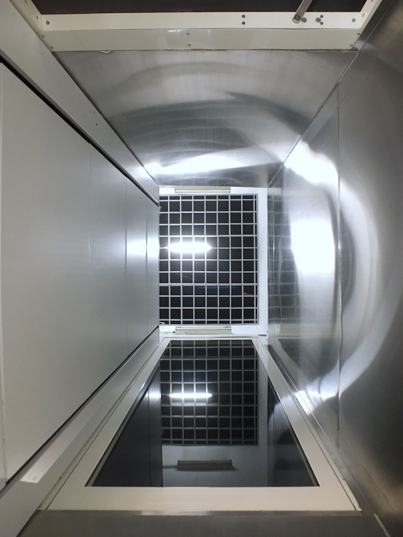 Screw-driven Passenger Lift Shaft