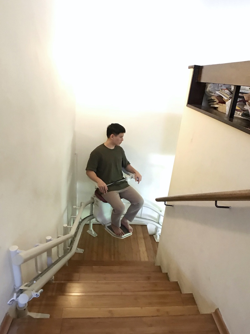 Chair Lift for Multi-storey Home