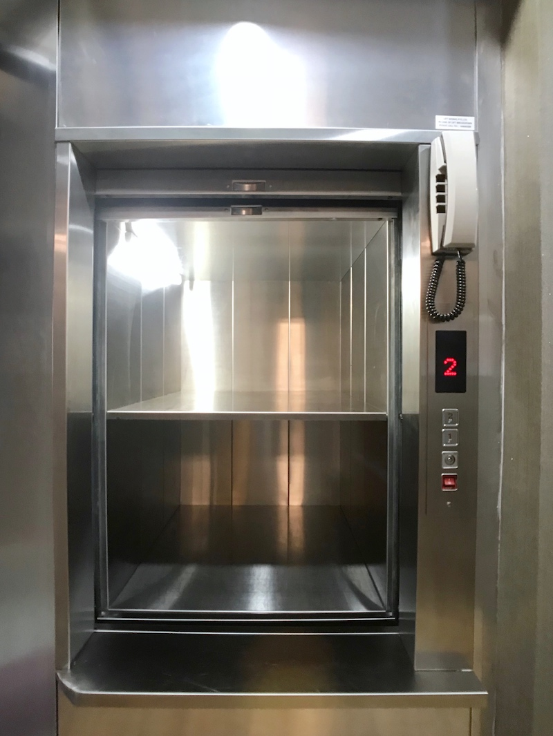 Traction System Dumbwaiter for Food