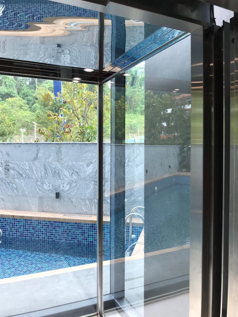 Panoramic Glass Lift for Home, Singapore